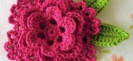 Como fazer flor de crochê – Passo a passo e modelos
