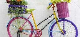 Criatividade com bicicletas antigas – Arte e reciclagem