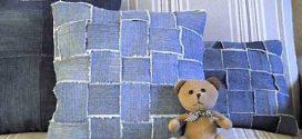 Reutilize jeans velhos com dicas de artesanato