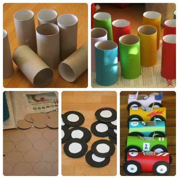 Fa a brinquedos de material reciclado com seus filhos for Puertas de material reciclado