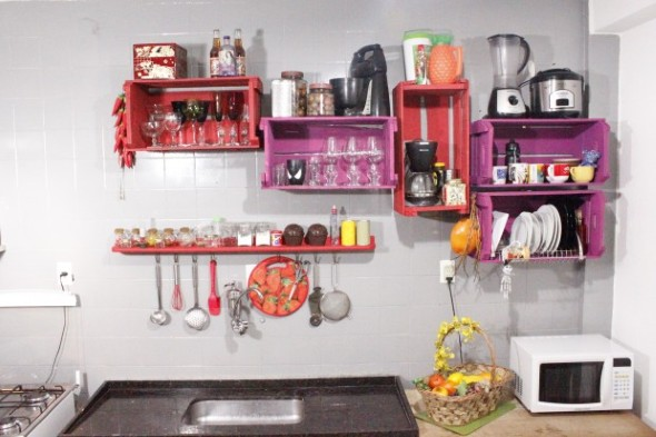 Armário de caixote para cozinha – Saiba como fazer