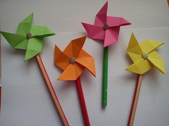 Adesivo De Parede Infantil Nuvem ~ Artesanato com origami Ideias para fazer em casa
