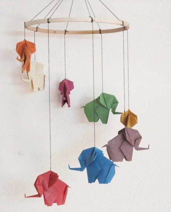 Artesanato De Palha Historia ~ Artesanato com origami Ideias para fazer em casa