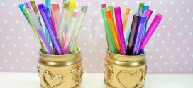 DIY – Como fazer um porta-canetas artesanal