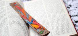 Marcador de páginas artesanal – Saiba como fazer