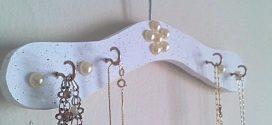 Organizador artesanal para jóias e bijuterias