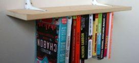 Prateleira de livros invertida – Aprenda a fazer