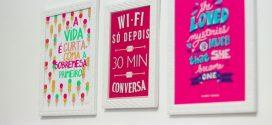 Ideias criativas de quadros para fazer em casa