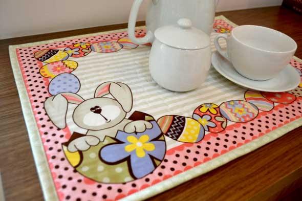 Artesanato Tecido Pascoa ~ Artesanato com tecido para Páscoa Confira algumas dicas
