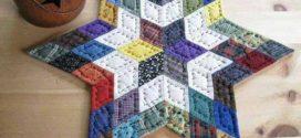 Novas ideias de artesanato em patchwork