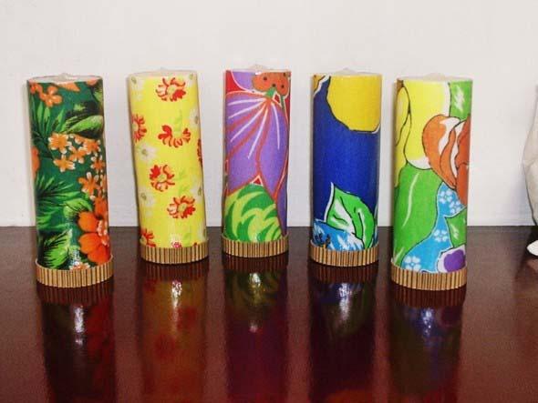 Artesanato Indiano ~ Artesanato com tecidos de chita Confira alguns modelos