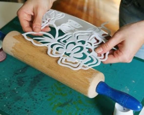 Como fazer um carimbo artesanal para pintar paredes - Tipos de pintura para paredes ...