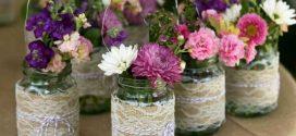 DIY – Ideias de artesanato com potes de vidro