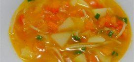 Receita de sopa simples de legumes – Dica saudável