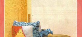 Trava e peso de porta artesanal – Aprenda a fazer