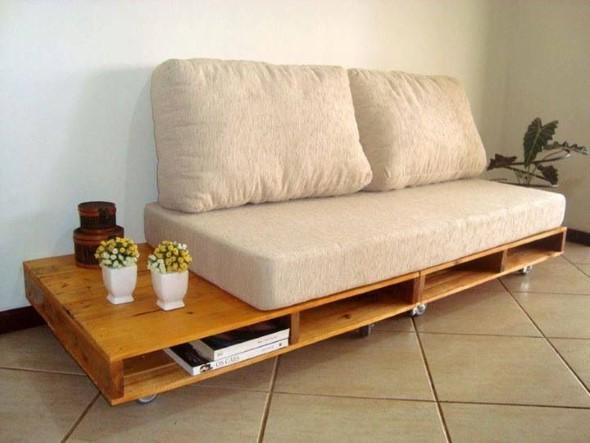 Diy como fazer um sof de paletes em casa for Casas de sofas en madrid