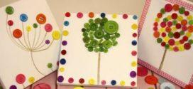 DIY – Quadro artesanal com botões – Como fazer