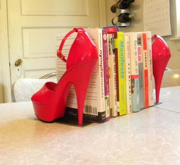 Adesivo De Bailarina Para Quarto ~ Ideias criativas para reciclar calçados velhos