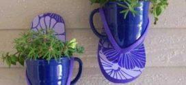 Ideias criativas para reciclar calçados velhos