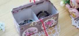 Ideias artesanais com caixas de leite