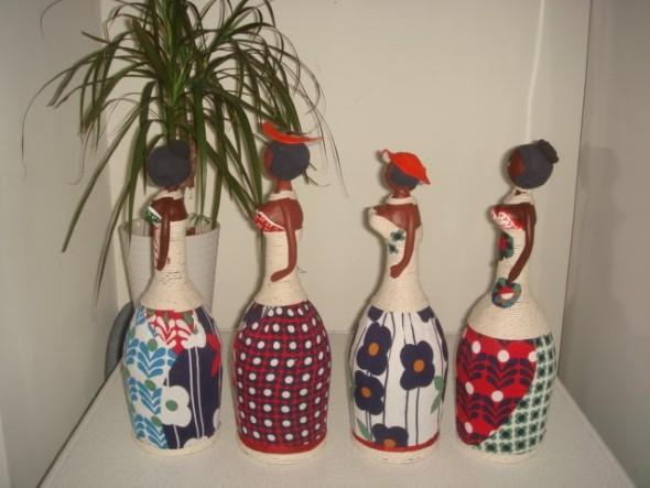 Armario Limpieza Conforama ~ Dicas DIY de artesanato com garrafas de vidro