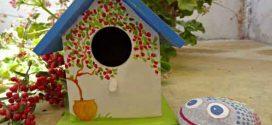 Casa de passarinho artesanal – Saiba como fazer a sua