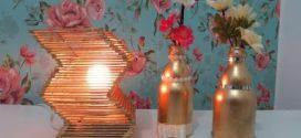 DIY – Como fazer uma luminária com palitos de picolé