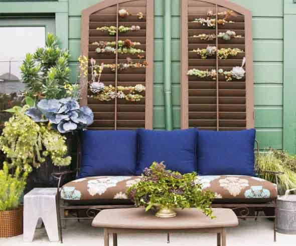 Home Garden Design Ideas India: Aproveitar Venezianas De Madeira No Artesanato