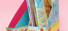 DIY – Como fazer um porta livros com material reciclado