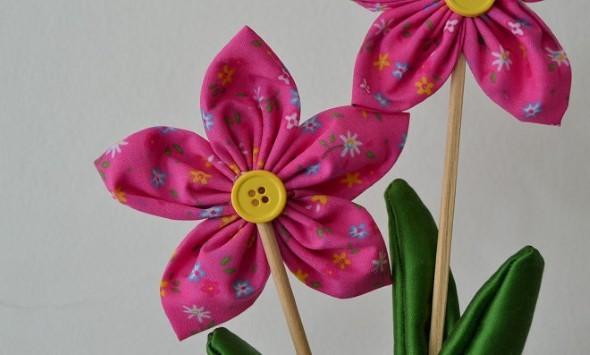 Armario Planejado Banheiro ~ Ideias de artesanato com flores de fuxico