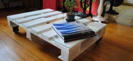 Mesas artesanais para fazer em casa – Confira as dicas