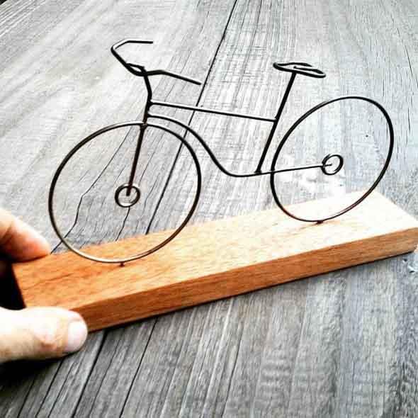 Aparador De Foco Jugui ~ DIY Como fazer artesanato com arame
