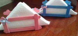 DIY – Porta guardanapos artesanal – Confira estas dicas