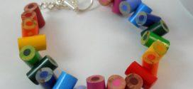 Como criar peças artesanais com lápis de cor
