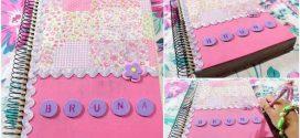 DIY – Customizar agendas e cadernos com artesanato
