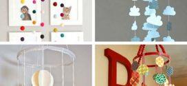 DIY – Móbile para quarto do bebê – Saiba como fazer