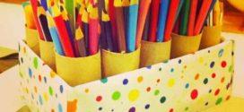 DIY – Porta lápis para quarto infantil