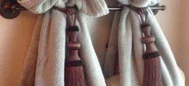 Como fazer um porta toalhas artesanal