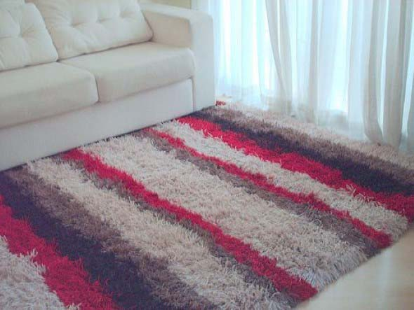 Adesivo De Credito Santander ~ DIY Aprenda a fazer tapete amarradinho artesanal