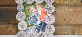Ideias de molduras porta fotos artesanais