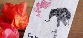 Como fazer cartão artesanal para datas especiais