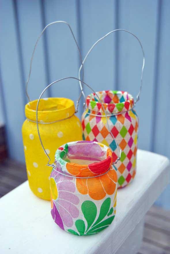 Ideias de artesanato com materiais reciclados para festa junina -> Decoração De Festa Junina Com Materiais Reciclados