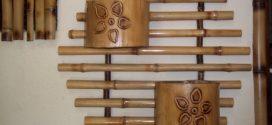 Trabalhos artesanais com bambu – Dicas para fazer em casa