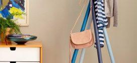 Cabideiro com cabo de vassoura – Aprenda a montar o seu