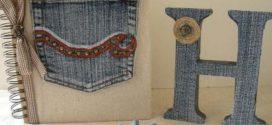 Trabalhos artesanais com jeans usado – Confira as dicas