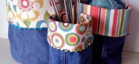 Reciclar calças jeans com artesanato – Confira algumas dicas