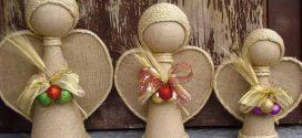 Como fazer anjo artesanal decorativo – Confira as ideias