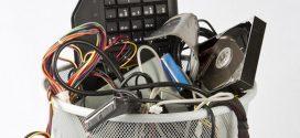 Aprenda a descartar lixo eletrônico