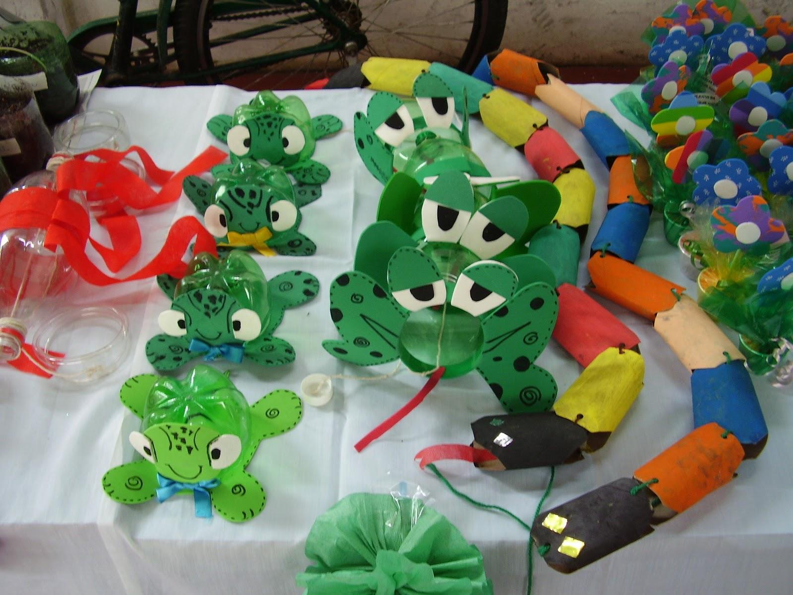 Brinquedos com material reciclado 4