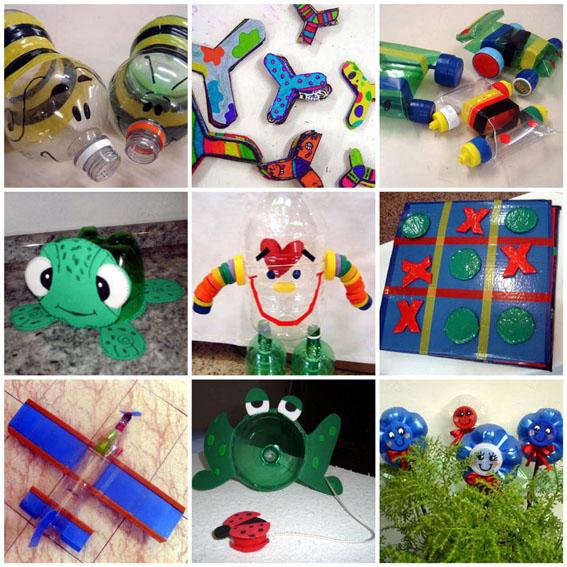 Brinquedos com material reciclado 6